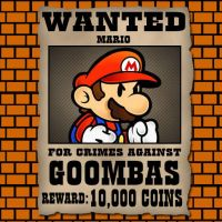 Wanted: Mario by kaine316