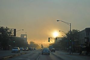 Sunrise, Cermak Avenue by eyepilot13