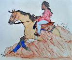 Mary's Spring Schooling: Reining Training by Miss-Tanner