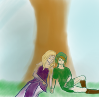Happy birthday Zelink by Artsick-and-Awesome