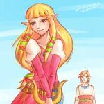 Skyward Sword: love will find a way by Zelbunnii