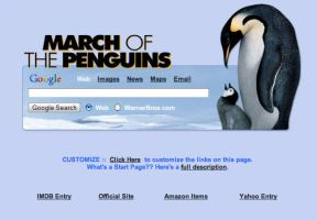 March of the Penguins Start by AwesomeStart