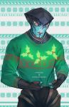 ME Christmas Sweaters - Javik by Weissidian