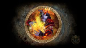 Shaman Firelands Take 2 by NelEilis