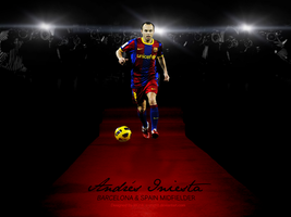True Star Andres Iniesta by MQ18