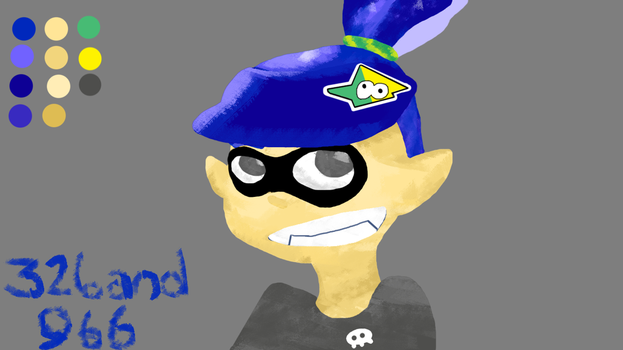 Splatoon Drawin by 326and966