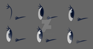 The making of Eyes by OMadHatterO
