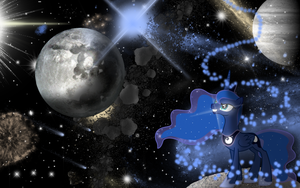 Luna Spacey Wallpaper by wingdune41