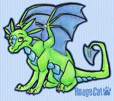 Green Dragon by therougecat