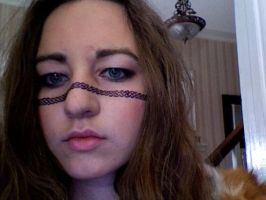 Celtic Warrior Face Sharpie by SomewhatSavvy