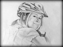 Biking Helmet by philippeL