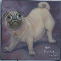 Bruce the Pug by Paint201