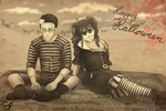 .: By The Sea :. Happy Halloween! by PinselTheExperiment