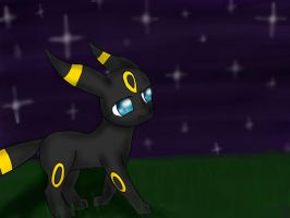 Umbreon! by sarahthemerp