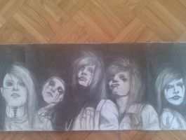black veil brides (not finished yet) by PinkRose02