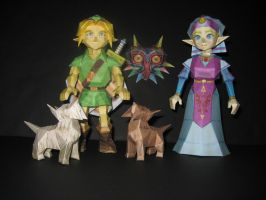 Zelda Models by TouchFuzzyGetDizzy
