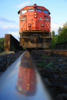 CN Freight Train by DavidBradley