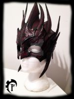 Blood Archon mask by Feral-Workshop