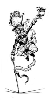 Fred Astaire / Mad Hatter by JohnPatience