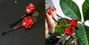 Red Lotus Clips by Syrazel