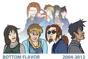 Bottom Flavor 2004-2012 by zeratanus