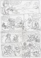 Commish: Trouble in Paradise Xone! pg23 by BlueIke