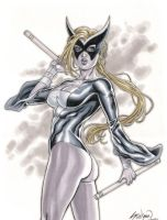 The Avengers' Mockingbird Comission 01 by John-Stinsman