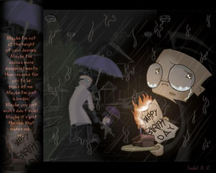 Maybe It's Because of the Rain by DarkLuna