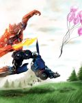 Optimus hates baloons by woxy