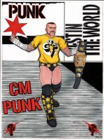 CM PUNK by The-Standard