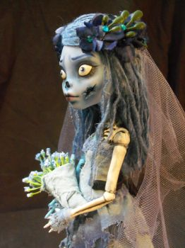 Monster High Corpse Bride 2.0 by mourningwake-press