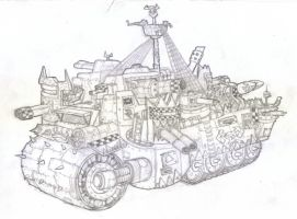 Battlewagon Concept by z00tz00t