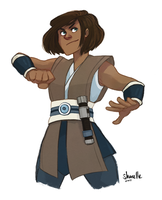 korra - star wars AU by shorelle