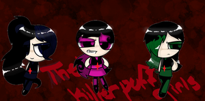 Request by ~awsomness35 :The Killer Puff Girls by COMICGIRL1155