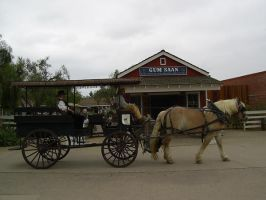 Horse And Carriage Stock 2 by chamberstock