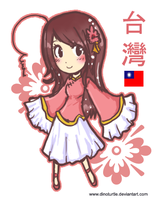 APH - Chibi Taiwan by DinoTurtle