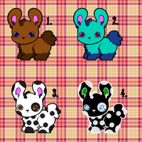 [OPEN] Fluffy adoptables by GrayAngel15