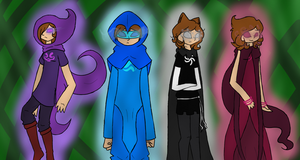 The four players by Miskipz