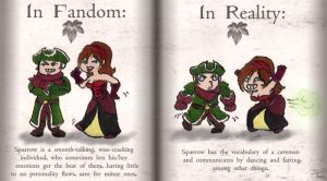 Fandom v.s. Reality: Sparrow by BeagleTsuin