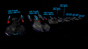TCoG Main Story starships by Marksman104