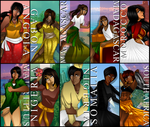 African Countries of Hetalia by StarShineTheAlicorn