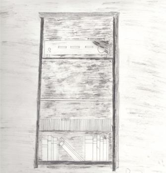 Bookcase-Still Life by N1Chris