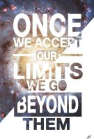Once we accept our limits by MashCus