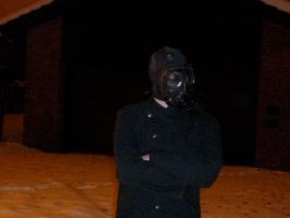 Not Impressed by Yohan-Gas-Mask