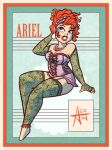 Disney Queen Pinup: Ariel by starZhelli