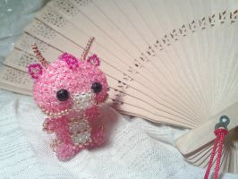 Pink Chinese Baby Dragon by lightspeedgirl