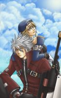 BB: Noel and Ragna by atlf3
