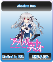 Absolute Duo - Anime Icon by Rizmannf