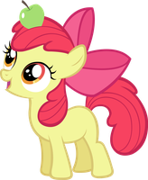 Apple Bloom by LilCinnamon