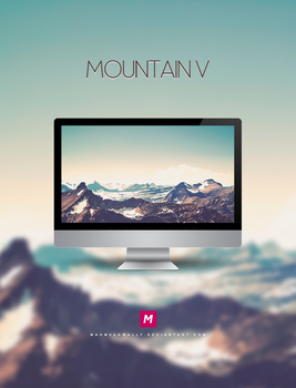 Mountain V by Mahm0udWally